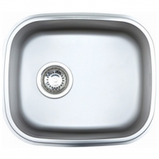 Franke - CUB150 Sink Undermount Sgl Bowl 455x 390x140mm Stainless Steel