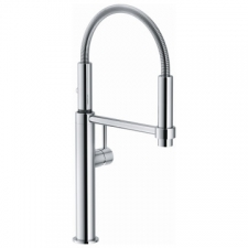 Franke - Pescara 360 Professional Sink Mixer with 10/90 Degree Handle with 2x Shut Off Valves Chrome