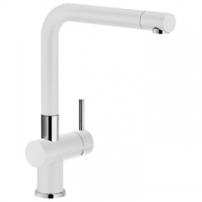 Franke - Active Plus Sink Mixer with 2x Shut Off Valves White/Chrome