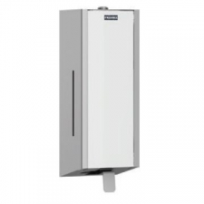 Franke - Franke EXOS618B Soap Dispenser Wall-Mounted with White Front Panel