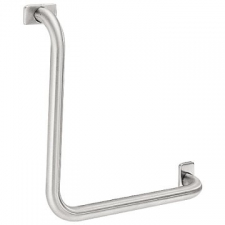 Franke - CNTX21 Angle Bar 90deg Horiz/Vert 415x415mm Satin Stainless Steel