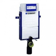 Geberit Kombifix element for wall-hung WC, 108 cm, with Sigma concealed cistern 12 cm