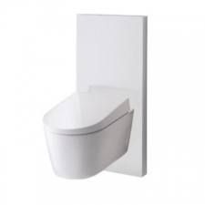 Geberit Monolith Plus sanitary module for wall-hung WC, 101 cm: white / glass