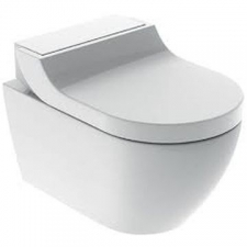 Geberit AquaClean Tuma Comfort WC complete solution, wall-hung WC: white alpine
