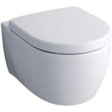 Geberit iCon wall-hung WC, washdown, Rimfree: T=53cm, white