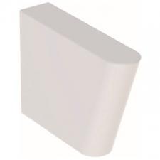 Geberit Publica Garda support for utility sink: B=10.5cm, H=35cm, T=41.5cm, white