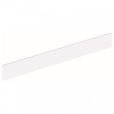 Geberit Bambini decorative cover, front, for play and washspace, for two washbasin taps: white alpine