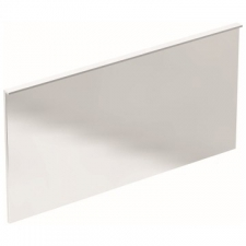 Geberit Xeno² illuminated mirror with direct and indirect lighting: B=140cm, H=71cm