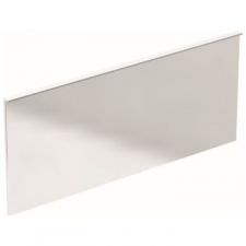 Geberit Xeno² illuminated mirror with direct and indirect lighting: B=160cm, H=71cm