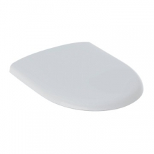 Geberit - Smyle Standard Toilet Seat with Removable Steel Hinges White