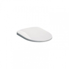 Geberit Selnova WC seat, hinges made of plastic, fastening from below: white