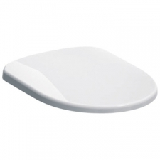 Geberit - Abalona Standard Toilet Seat with Metal Hinge Bottom Fix White
