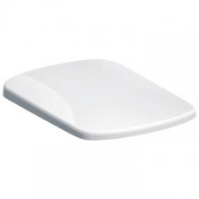 Geberit - Abalona Square Soft Close Toilet Seat with Top Fixing Hinge White