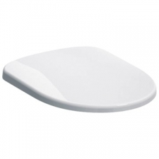 Geberit Selnova WC seat, fastening from above: Soft-closing mechanism =yes, Fastening=from above, white