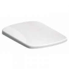 Geberit - Abalona Toilet Seat Square with Soft Closing Quick-Release Hinges White