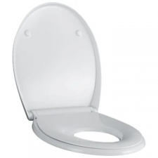 Geberit Selnova WC seat with seat ring for children, fastening from above: white