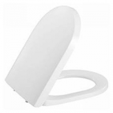 Geberit - Icon Toilet Seat Soft Close with Metal Hinges White