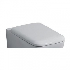 Geberit - Icon Toilet Seat Square Soft Close White