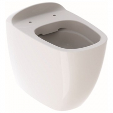 Geberit Citterio floor-standing WC, washdown, back-to-wall, shrouded, Rimfree: T=56cm, KeraTect / white