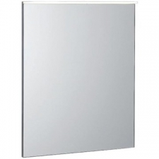 Geberit Xeno² illuminated mirror with direct and indirect lighting: B=60cm, H=71cm