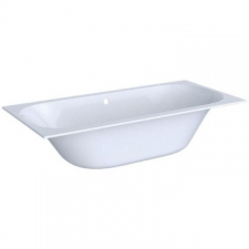 Geberit rectangular bathtub Soana, slim rim, duo, with feet: L=190cm, B=90cm