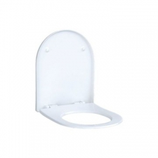 Geberit iCon WC seat: Soft-closing mechanism =no, Quick-release hinges=no, Fastening=from above, white