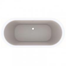 Geberit oval bathtub Tawa: L=180cm, B=85cm