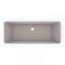 Geberit rectangular bathtub Tawa, duo: L=170cm, B=75cm