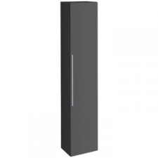 Geberit iCon tall cabinet with one door: B=36cm, H=180cm, T=31.7cm, matt coated / lava