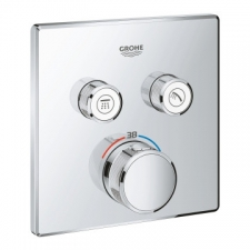 Grohe - Grohtherm - Taps - Bath/Shower Thermostatic Mixers - Chrome