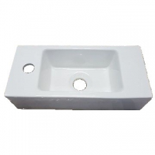 Hammonds - Amy Wall-Hung Basin 405x185x100mm White