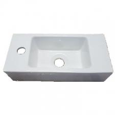 Hammonds - Amy Wall-Hung Basin 405x185x100mm White