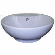 Hammonds - Belize Countertop Basin Round 450x170mm White