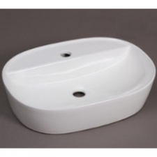 Hammonds - Lima Art Basin Countertop Oval 500x380x120mm White