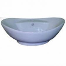 Hammonds - Panama Countertop Basin Oval 590x385x215mm White