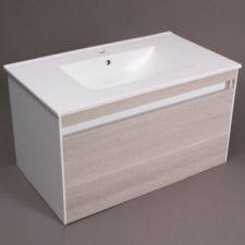 Hammonds - Penny 800 Wall-Hung Cabinet & Basin White High Gloss