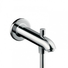 Hansgrohe - Tub Spout E/S 229mm with Diverter Chrome