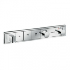 Hansgrohe - RainSelect Finish Set for Concealed Installation for 3 Outlets Chrome