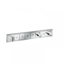 Hansgrohe - RainSelect Finish Set For Concealed Installation For 4 Outlets Chrome