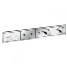 Hansgrohe - RainSelect Thermostat for Concealed Installation for 4 Functions Chrome