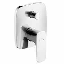 Hansgrohe - Puravida Bath Mixer Concealed FiniSH Set Chrome