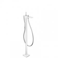 Hansgrohe - Puravida Bath Mixer Free Standing White/Chrome