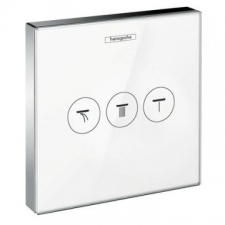 Hansgrohe - ShowerSelect SHut-off valve for White/Chrome
