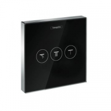 Hansgrohe - ShowerSelect Shut-off valve for Black/Chrome