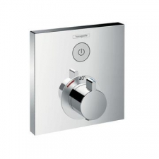 Hansgrohe - ShowerSelect Thermostatic Mixer Conc. 1 Outlet Chrome