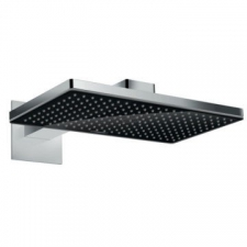 Hansgrohe - Rainmaker Select 460 1Jet Overhead Shower with Shower Arm 460mm Black/Chrome