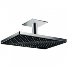 Hansgrohe - Rainmaker Select 460 2Jet Overhead Shower w/Ceiling Connector 100mm Black/Chrome