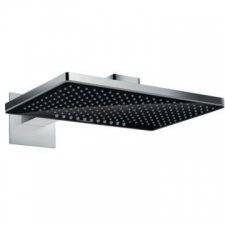 Hansgrohe - Rainmaker Select 460 2Jet Overhead Shower With Shower Arm 460mm Black/Chrome