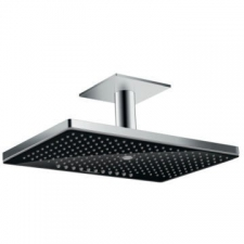 Hansgrohe - Rainmaker Select 460 3Jet Overhead Shower w/Ceiling Connector 100mm Black/Chrome