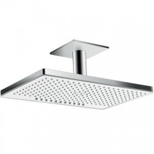 Hansgrohe - Rainmaker Select Overhead Shower 460 2Jet EcoSmart Ceiling Connector White/Chrome